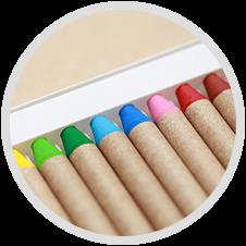 色育の画像